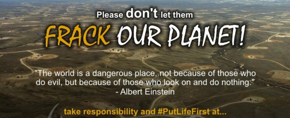 Cfm Dont Frack Our Planet